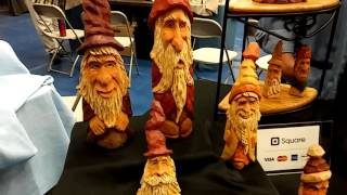 William Rush Woodcarving Show 2016 Jim Feathers