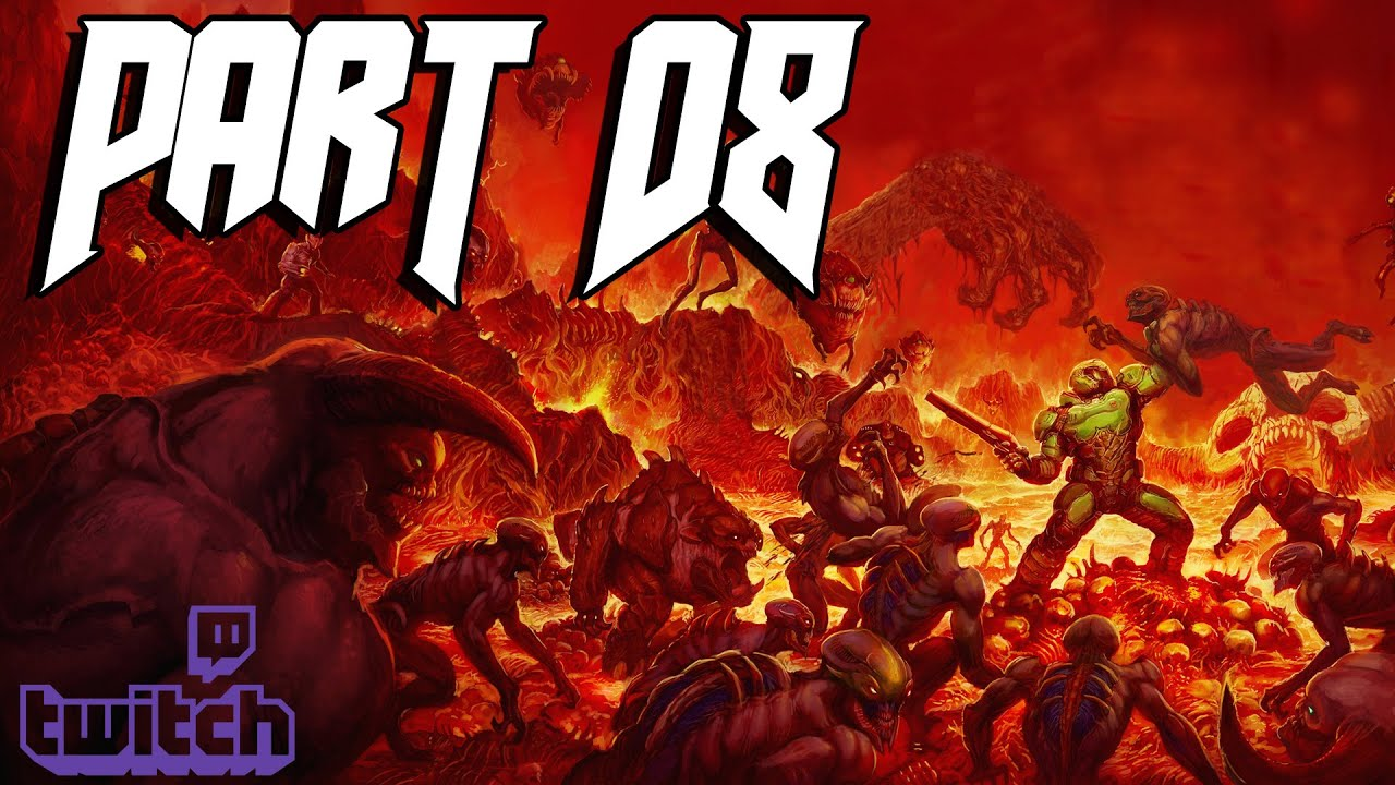 DOOM (PS4) – Part 08 – DOOMsday Livestream