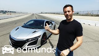 2017 Acura NSX | Track Test: How Fast Is It? | Edmunds