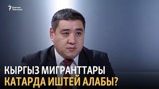 Кыргыз мигранттары Катарда иштей алабы?