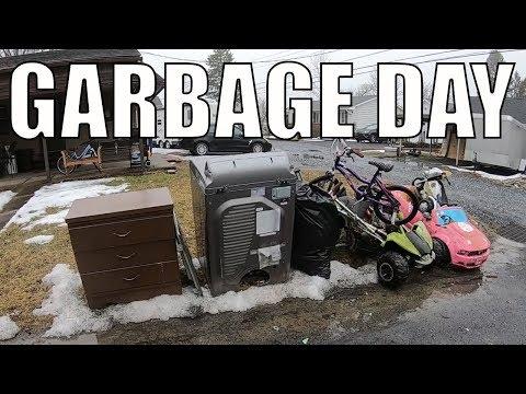 TRASH PICKING DAY Spring Cleaning Has Begun! Trash Picking Ep. 121
