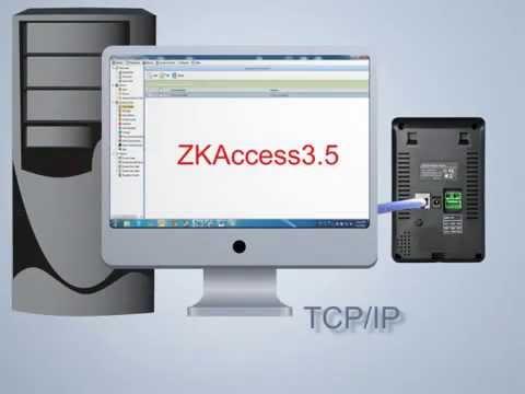 SC 700 Touch Screen RFID Control de acceso Dispositivo ZKTeco