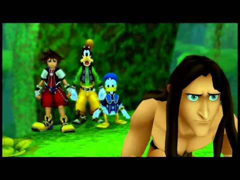 Kingdom Hearts 1 HD 1.5 ReMix {PS3} часть 9 — Глубоко в Джунглях