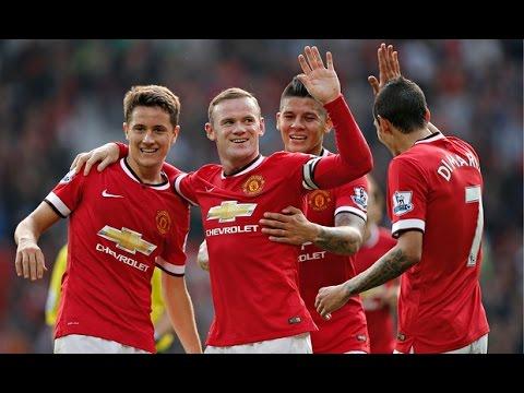 Best of Wayne Rooney 2014/15 (skills, goals, passes) HD highlights