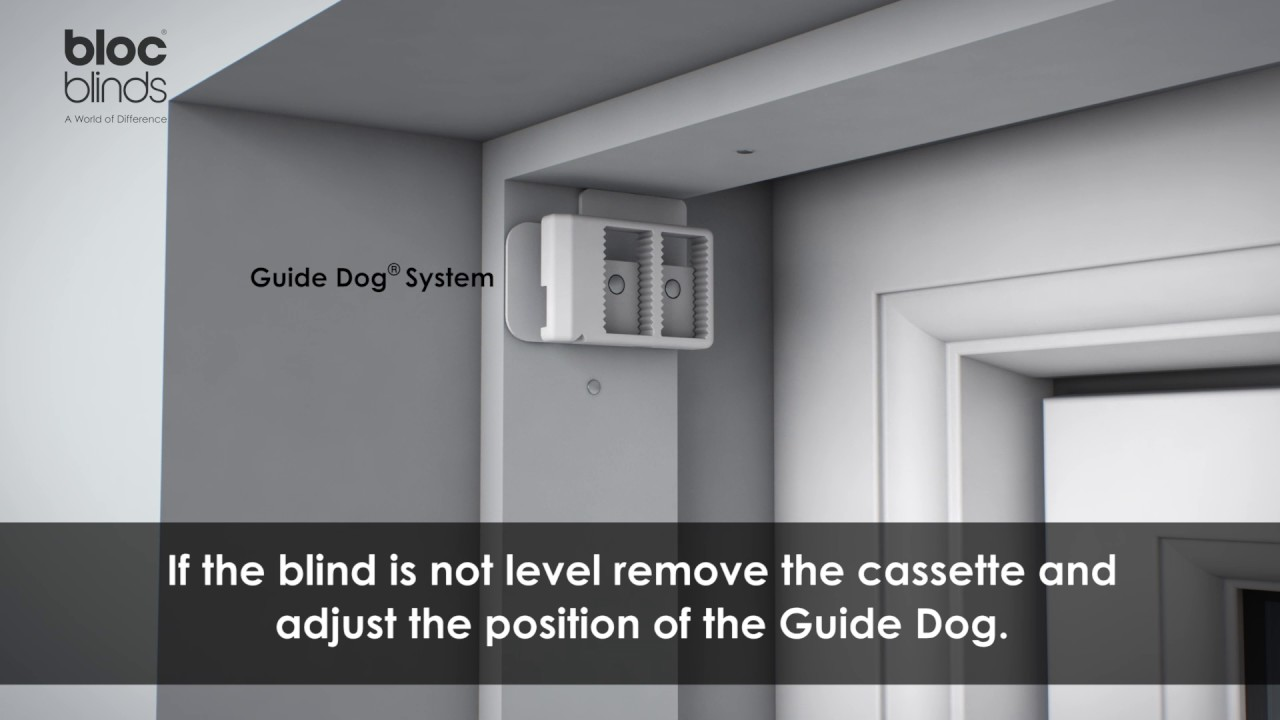 How to install recess mount Blocout Blind