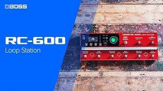 Boss RC-600 Loop Station Video