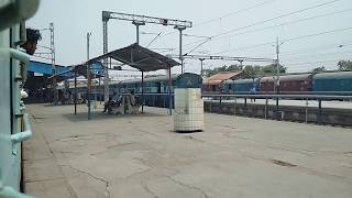 preview picture of video '15054 Lucknow Chapra arriving Chapra station'