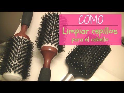 Como limpiar el cepillo para el cabello