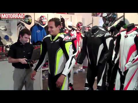 Airbag Lederkombi: Alpinestars Tech Air Race