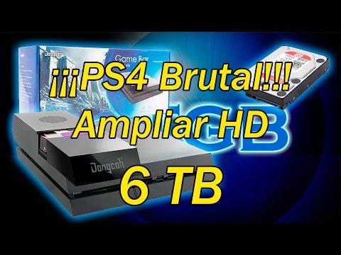 PS4 Tutorial: Como cambiar disco duro hasta 6 TB BRUTAL!!! Opcional desde actualización 4.50 de PS4