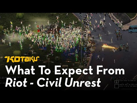 A Game That Simulates Real World Riots