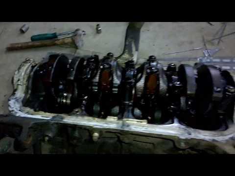Фото к видео: Разбор мотора 4EFE(Toyota corolla)