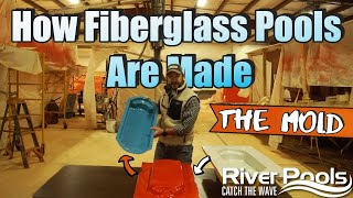How Fiberglass Pools Are Made; The Mold; Part 1 of 8