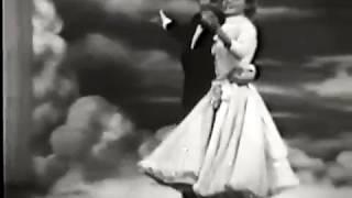 Ray Bolger, Vera Ellen--April in Paris, 1957 TV