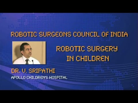 Robotic Surgery in Children