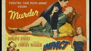 IMPACTO (IMPACT, 1949, Full Movie, Spanish, Cinetel)
