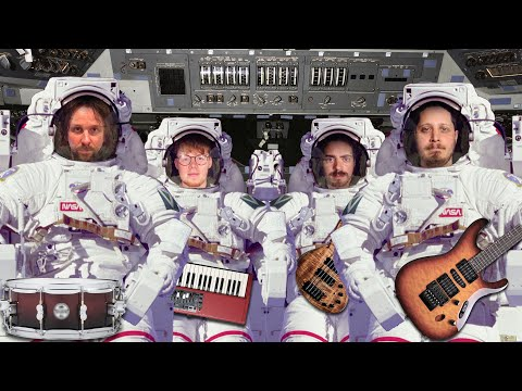 Yuval Ron feat. Marco Minnemann - I Believe in Astronauts online metal music video by YUVAL RON