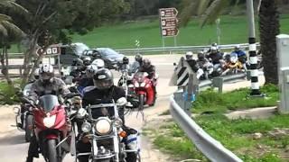 preview picture of video 'טיול מועדון האופנועים הישראלי לגוש עציון 15/02/2011'