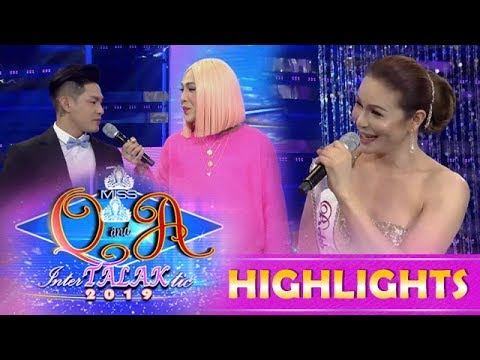 It's Showtime Miss Q & A: Vice Introduces Kuya Escort Ion To Ma'am Charot Santos