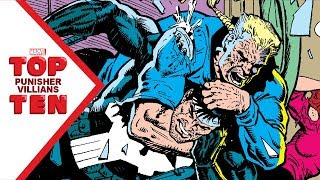 Marvel Top 10 Punisher Villains