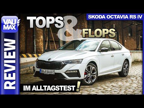 Skoda Octavia RS iV - Tops & Flops Hybird-Alltagstest   Selbstversuch   Fahrbericht   Kaufberatung