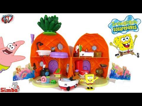 SpongeBob SquarePants Pineapple House Playset Toy Review, Simba Toys
