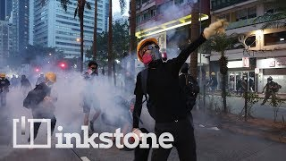 Who is supplying Hong Kong's protesters?