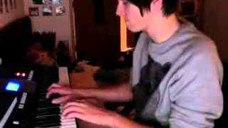 Dan Howell Playing Piano - Song From Final Fantasy VII Soundtrack