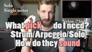 Are You Using The Right Guitar Pick/plectrum? I DID NOT!