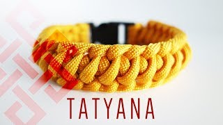 How to Make Tatyana's Weave Paracord Bracelet Tutorial