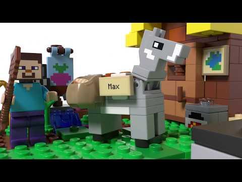 Vidéo LEGO Minecraft 21144 : La ferme