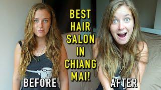 I GOT MY HAIR CHOPPED OFF! | Best Hair Salon In Chiang Mai, Thailand