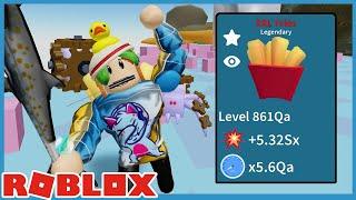 New Update! Kitchen Area & Insane Legendary Luck! - Roblox Unboxing Simulator