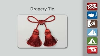 Drapery Tie | Hold Back your Curtains with the Drapery Tie