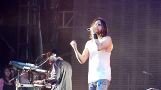 30 seconds to mars  - Alibi (live)  Zitadelle - Berlin 06.06.13