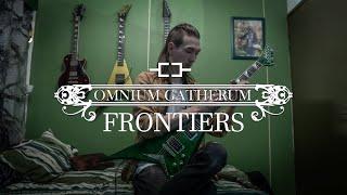 OMNIUM GATHERUM - Frontiers (Guitar cover incl. solo, Jackson RR USA custom, transparent green)