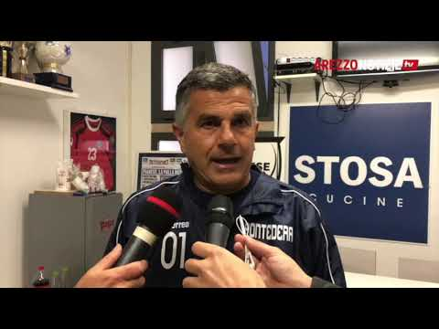 Pontedera-Arezzo 1-2, intervista a mister Maraia
