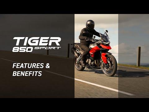2022 Triumph Tiger 850 Sport in Goshen, New York - Video 2