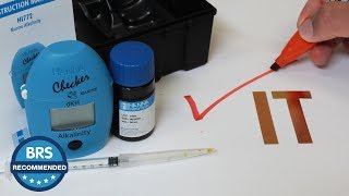 CHECK out this BRS Recommended: The Hanna Alkalinity Checker!