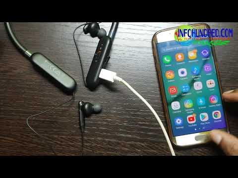 How to】 Charge U Flex Headphones