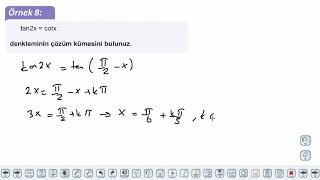 Eğitim Vadisi AYT Geometri 8.Föy Trigonometri Konu Anlatım Videoları