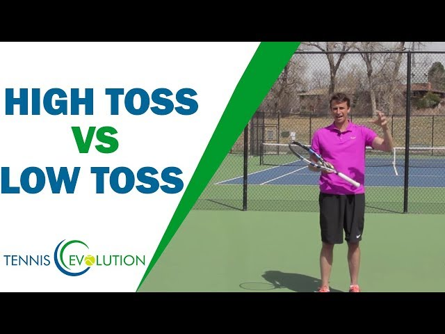 Should Your Serve Toss Be High Or Low? | TENNIS SERVE