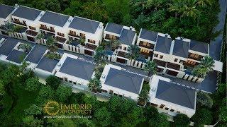 Video Desain Kompleks Villa Style Villa Bali 2 Lantai Ibu Marina di  Gianyar, Bali