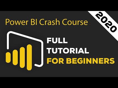 Power BI Crash Course for Beginners 2020 - Analyze & Visualize Data with Power BI Desktop