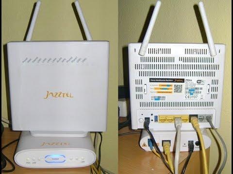 إعداد وضبط الروترaccess point configuration part-2 ZTE ZXHN