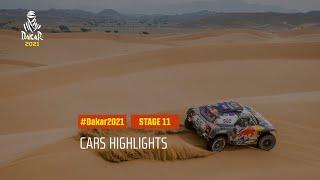 DAKAR2021 - Stage 11 - AlUla / Yanbu - Car Highlights