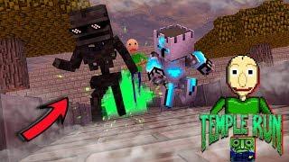 Download Video Monster School : TEMPLE RUN MONSTER CHALLENGE - Minecraft Animation MP3 3GP MP4