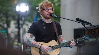 """Ed Sheeran Performs """"Galway Girl"""" On Today Show"""