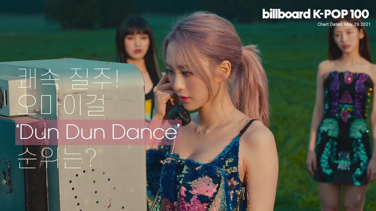 빌보드 케이팝 100 주요 순위 21.05.29