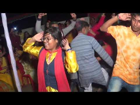 Teri Aakhya Ka Yo Kajal | Bilash & Diba gaye holud dance | 2018 |